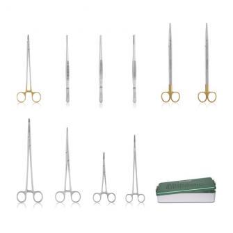 Kit de instrumentos para el tórax