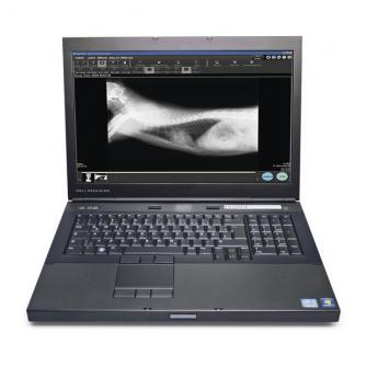 Sistema FCR Prima Table Plus Vet con consola Prima V