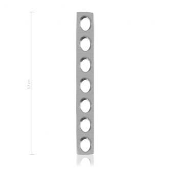 Mini-placas de autrocompresión con orificios, medidas 1,5 / 2,0 mm