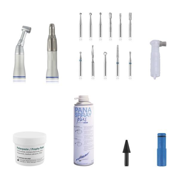 Kit odontológico básico para animales pequeños