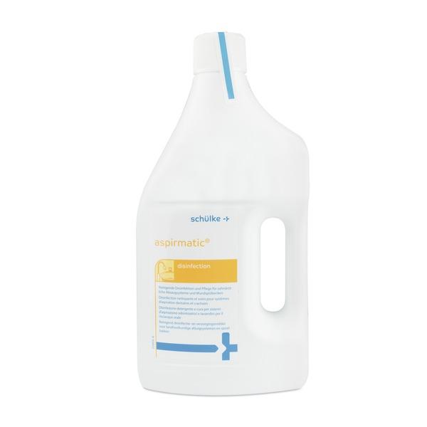 Producto de limpieza y desifección para las piezas de succión de las unidades dentales