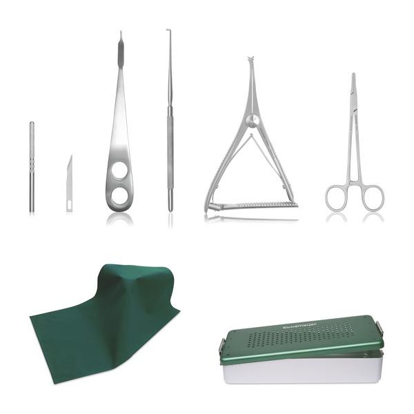 Kit de instrumental para la cirugía de meniscos