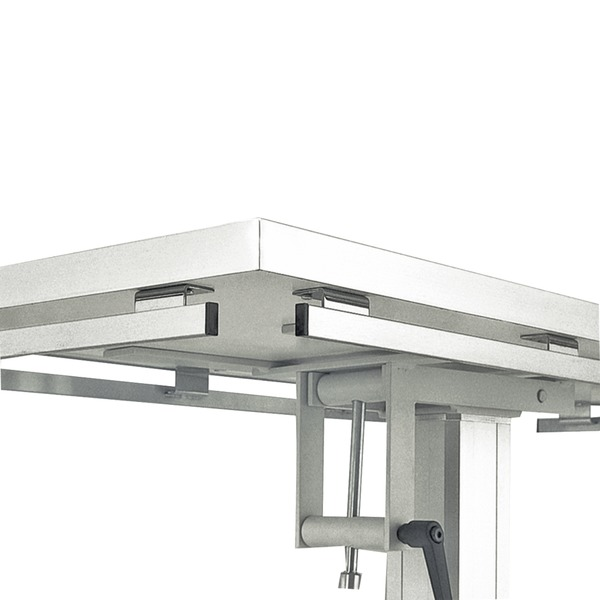 Sistema de rieles para mesas quirúrgicas