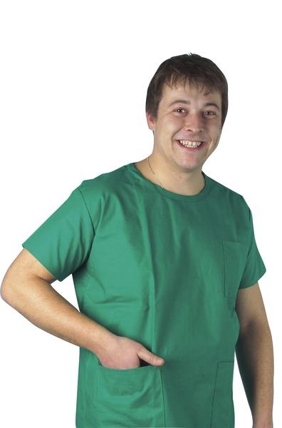 Bata quirúrgica verde KASAK
