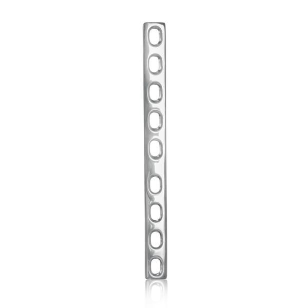 Placas de autocompresión extras reforzadas con orificios para huesos, medida 3,5 mm